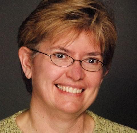 Studio headshot of Kathy Highbaugh